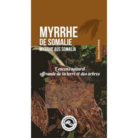 Myrrhe de Somalie, 40 gr. Encens du monde
