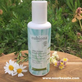 Eubiona, Shampoing Bio Henné - Aloé véra, Restructurant, 200 ml.