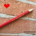 Amour, Crayon Personnalisé : Amour/ Amor/ Hubb / Love