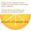 Poudre d'orange Bio, 100 gr