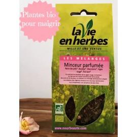 Minceur Parfumée : Tisane bio . La vie en herbes. 35 Gr