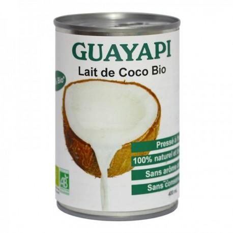 Acheter Lait de coco bio, Guayapi, 400 Ml