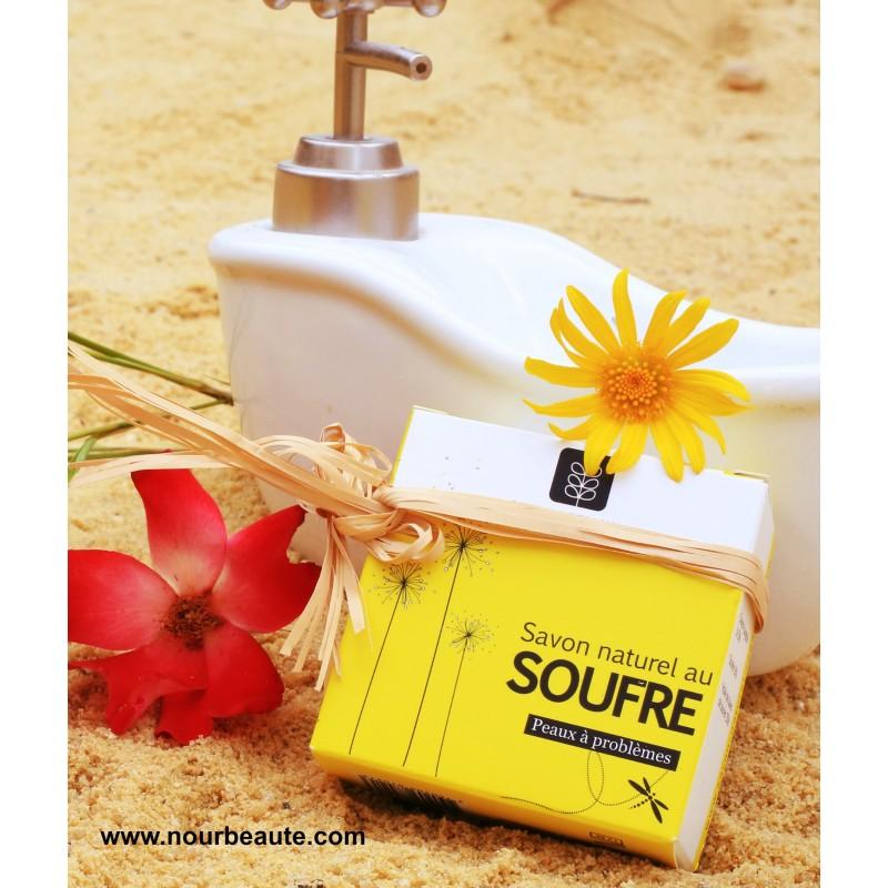 fec32b0c212c Savon Naturel au Soufre, Saponifié à froid, (Acné, Peaux à Problèmes) ...