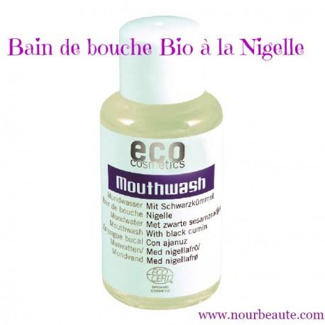Bain de Bouche Bio à la Nigelle. Eco Cosmetics, 50 ml