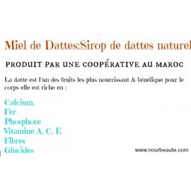Miel de dattes, sirop de dattes naturel du Maroc
