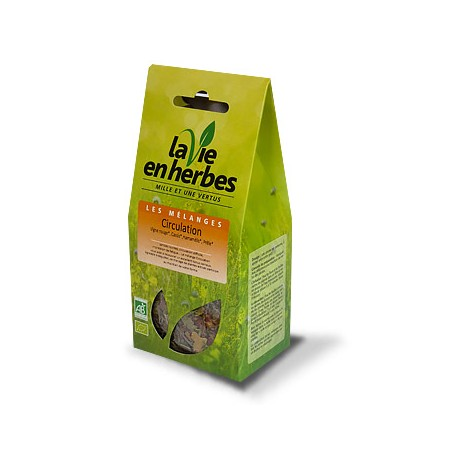 Tisane Bio Circulation, 45 gr en Vrac. La vie en Herbes