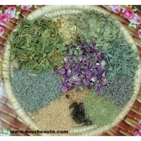 Henné au plantes préparé par un herboriste. Maroc. 100 Gr