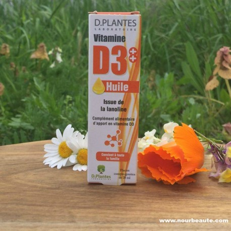 Vitamine D . D Plantes. 20 ml