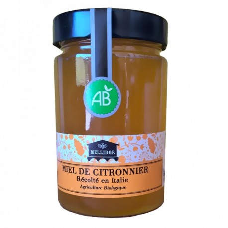 Miel de Citronnier Bio, 400 Gr
