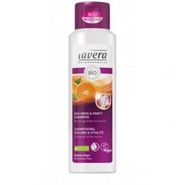 Lavera. Shampoing Volume et Vitalité à l'orange et thé vert bio, 250 ML