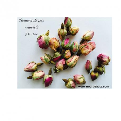 Boutons de rose naturel du Maroc. 100 gr