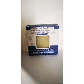 Shampoing Solide bio corps et cheveux. Rhassoul et menthe, 100 gr