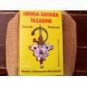 Hénné Sahara Tazarine, 100gr, Boîte jaune, Hénné Naturel du Maroc