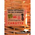 Savon à la Carotte, Saponification à Froid , 140 gr