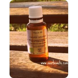 Huile de Carotte Sauvage, 30 ml,Certifiée Agriculture Biologique