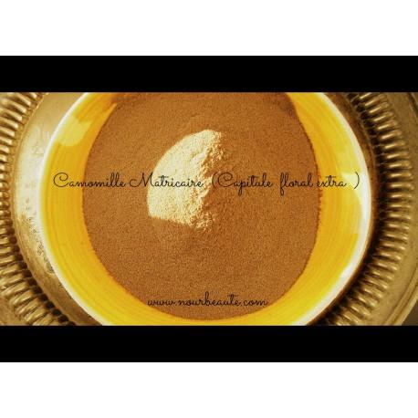 Camomille Matricaire en Poudre , 50gr ( Capitule Floral Extra )