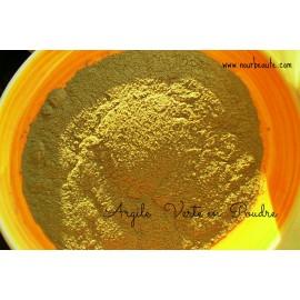 Argile Verte, Poudre Surfine, 100 gr