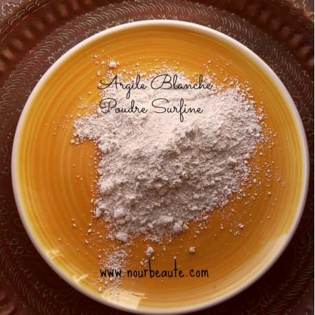 Argile Blanche, Poudre Surfine, 100gr