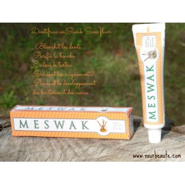 Dentifrice au Meswak( Siwak), Ayurvédique & Sans Fluor, 100gr, Dabur
