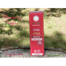 KHADI Shampoing Ayurvédique Amla Volume & Brillance, 210 ml