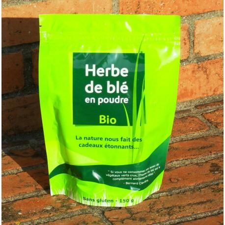 Herbe de Blé Bio, 150g ( Sans Gluten )