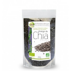 Ecoidées Graines de Chia Noires certifié AB- 200gr