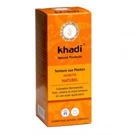 KHADI Teinture aux Plantes Noisette Nature, 100gr