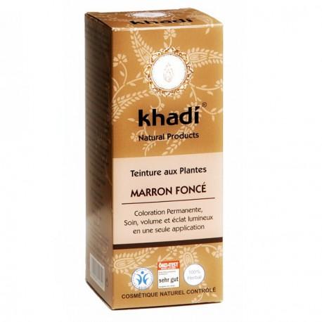 KHADI Teinture aux Plantes Marron Foncé 100gr