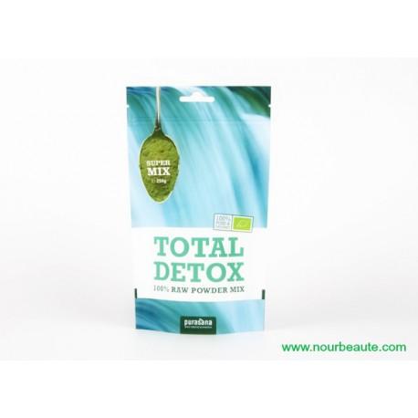 Purasana, Total Detox, Raw Food Super Food Bio, 250 Gr