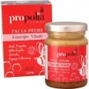 Propolia, J'ai la pêche, Energie vitale : Miel, Propolis, Gelée Royale, Acérola, Papaye, Ginseng. Pot
