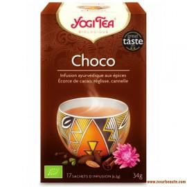 Yogi Tea, Choco, Infusion Ayurvédique certifié Agriculture Biologique