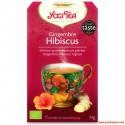 Yogi Tea Bio : Gingembre Hibiscus, Infusion Ayurvédique