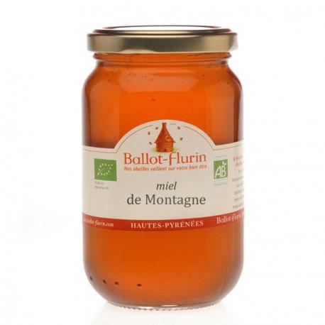 Miel de Montagne, Ballot Flurin, 500 Gr