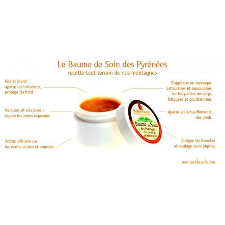 Ballot Flurin , Baume de Soin Des Pyrénées Bio, 30 ml