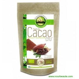 Ecoidées, Poudre de Cacao Cru, 200gr