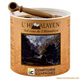 Sel Rose de l'Himalaya, 205 Gr, Comptoirs et Compagnie