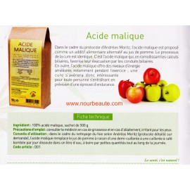Acide Malique, 500 Gr