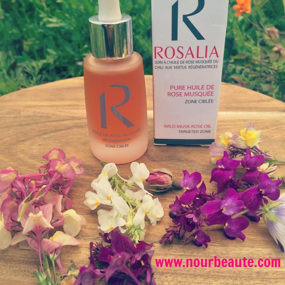 Huile De Rose Musquee Bio Et Pure Rosalia 30 Ml Nourbeaute